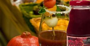 zumo de granada melon y sandia
